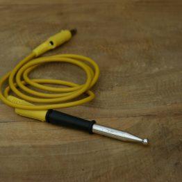 Cosmolife_acupunctuur kogelpunt met bananenstekker aansluiting