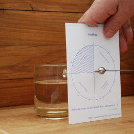 Cosmolife _voorbeeld van een meting met testkaart